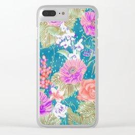 boho 2018 Clear iPhone Case