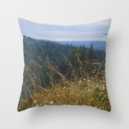 Snoqualmie View Throw Pillow