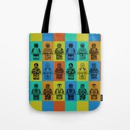 leggo man #4 Tote Bag