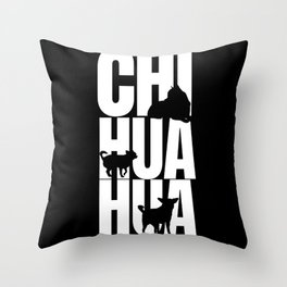 Chihuahua  Breed Lover Throw Pillow