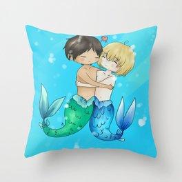 Mer!Eremin Throw Pillow