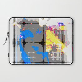 glitch abstract Laptop Sleeve