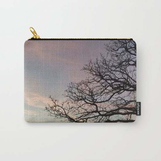 Subtle savanna sunset - Pheasant Branch Conservancy Carry-All Pouch