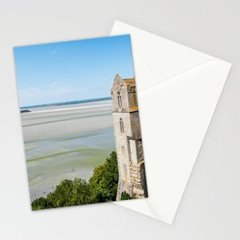 Mont Saint-Michel and the bay at low tide Stationery Cards