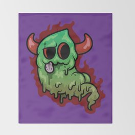 Stink Demon Throw Blanket