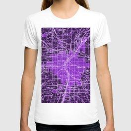 11-Denver Colorado 1958, america maps T-shirt