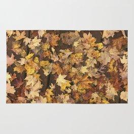 Late Fall Leaves 3 Rug