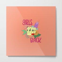 Girls fight back - Vampire palette Metal Print