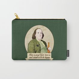 BEN AND BEER Carry-All Pouch