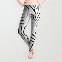 Minimalistic Pattern Leggings