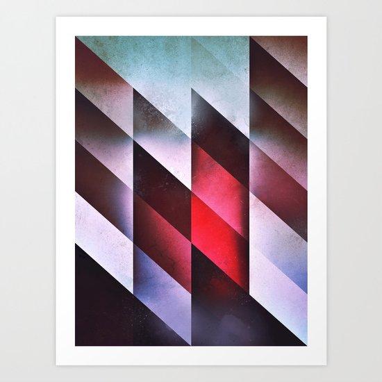 glyss mntz Art Print