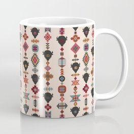 American Prairie Ethnic Tribal Seamless Pattern Coffee Mug