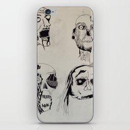 Quarantine Zombies iPhone Skin