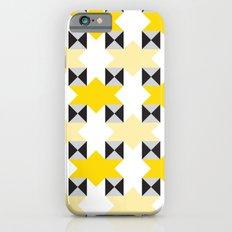 Yellow stars pattern iPhone 6s Slim Case