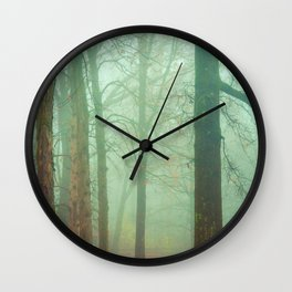Autumn Wanderlust Wall Clock