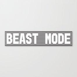 BEAST MODE - BLACK Canvas Print
