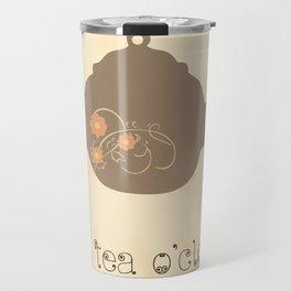 It's Tea O'clock Travel Mug