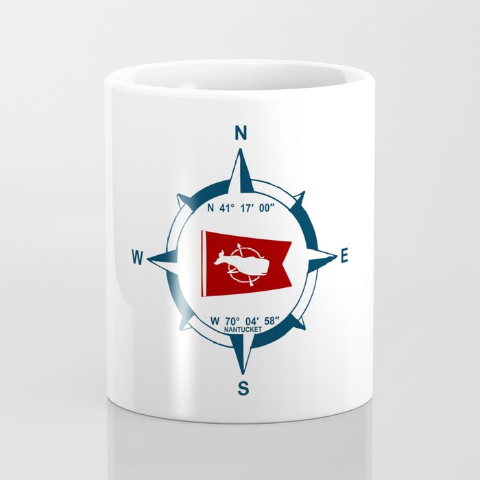 Nantucket Island. Coffee Mug