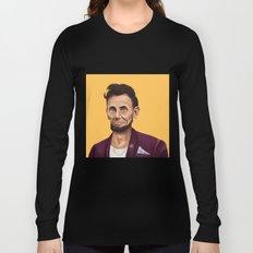 Hipstory -  Abraham Lincoln Long Sleeve T-shirt
