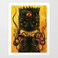 LovecrafTiki Art Print