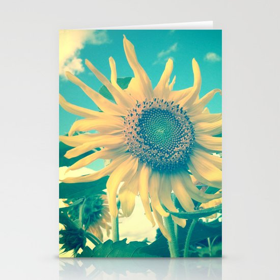 Looking on the Bright Side Stationery Cards