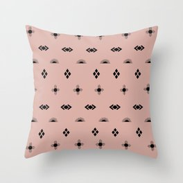 Navajo Stars & Suns Throw Pillow