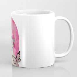 Pink Butterfly Soul Coffee Mug