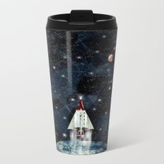 to boldly go Metal Travel Mug