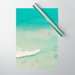 beach summer waves Wrapping Paper