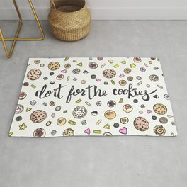 Do it for the Cookies Rug