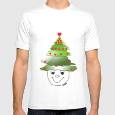 I love Christmas  Mens Fitted Tee White SMALL