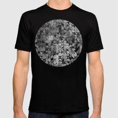 Fly Me To The Moon MEDIUM Mens Fitted Tee Black