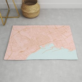 Palermo map Rug