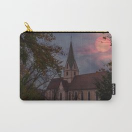 Sunset over a Monastrey Carry-All Pouch