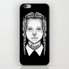 Addams iPhone & iPod Skin