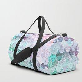 SUMMER MERMAID - CORAL MINT Duffle Bag