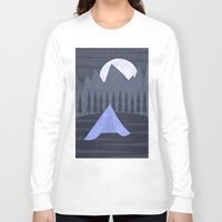 camping Long Sleeve T-shirts featuring Camping by Imagonarium