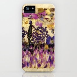 Petals As Paint - Purple Passion iPhone Case