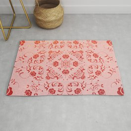 FOLK PATTERN #society6 Rug