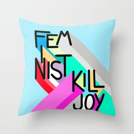 Might As Well Advertise Throw Pillow