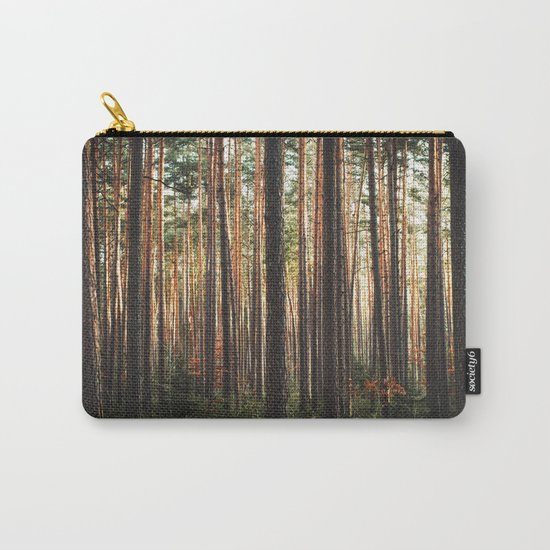 Through The Wood Carry-All Pouch
