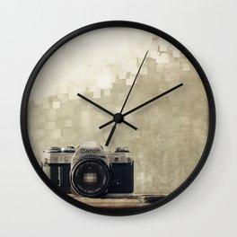film camera  Wall Clock