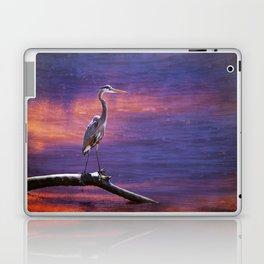 Mystical Heron Laptop & iPad Skin