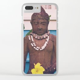 Vintage Kauai Buddha Clear iPhone Case