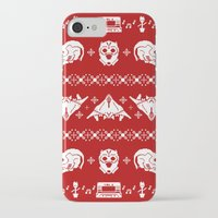 starlord iPhone & iPod Cases featuring Merry Christmas A-Holes by Perdita