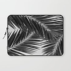 Palm Leaf Black & White III Laptop Sleeve