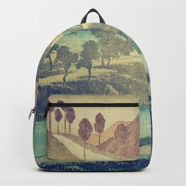 A Valley in the Evening Backpack