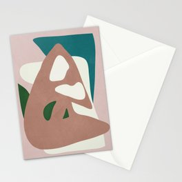 Abstract Minimal Shapes Stationery Cards