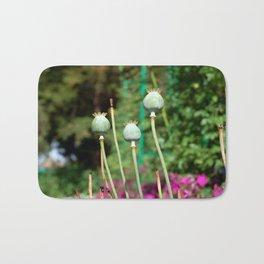 Flowers in Monet's Garden Bath Mat