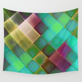COLOURFUL HILLS III Wall Tapestry